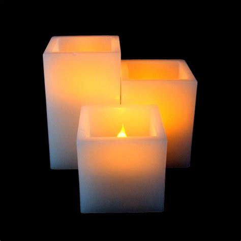 Candele Led by Square Pillar Led Candle