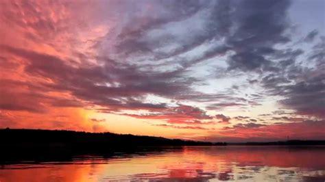 Sunset Sky Relaxation Danube River Youtube