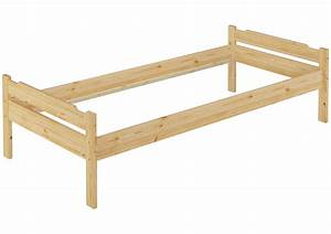 Bett 100 200 Cm : einzelbett jugendbett kiefer futon 100x200 cm bettgestell g stebett or ~ Indierocktalk.com Haus und Dekorationen