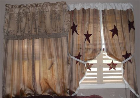 Primitive Living Room Curtains by Cozy Kountry Cottage Pictures From My Quot Curtain Make