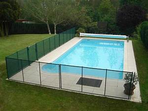 barriere de piscine amovible en pvc souple et aluminium With barriere de securite piscine beethoven