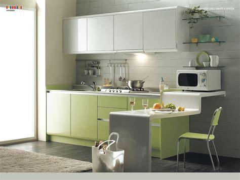 contemporary kitchen design ideas green kitchen modern interior design ideas with white