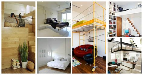 Saving Space With A Suspended Bedroom : Sensational Space-saving Suspended Beds For Creative Bedrooms
