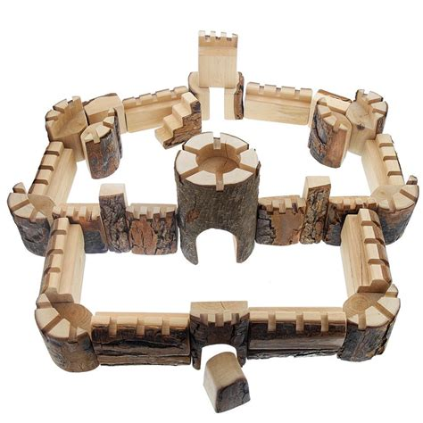 camelot castle blocks  pieces nova natural toys crafts