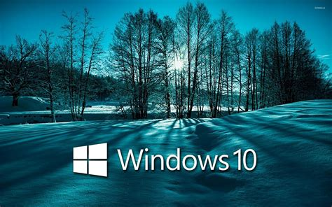 Windows 10 Snowy Mountain Wallpaper (53+ Images