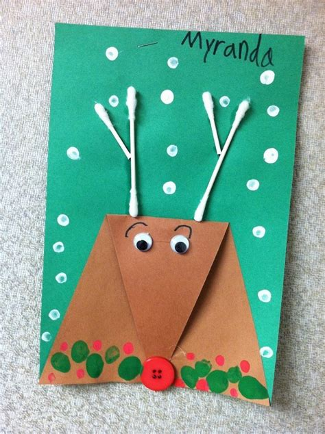 Christmas Arts And Crafts Ideas For Kindergarten Best