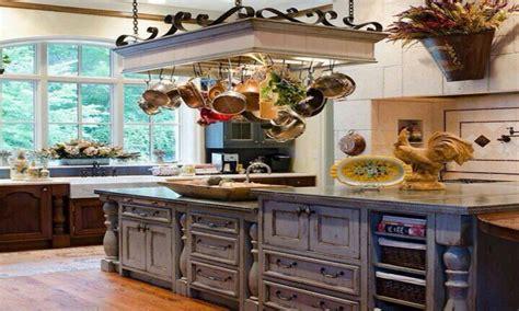 white kitchen island table home decor kitchen ideas country kitchen pot racks