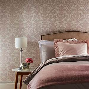Arthouse Bari Vintage Damask Pattern Wallpaper Textured ...