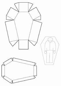 Coffin Box Template Printable Pdf Download