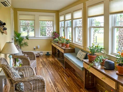 sunroom kitchen design ideas sunroom pictures from cabin 2014 diy network 8412