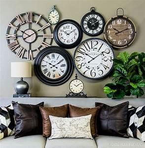 Clocks: amusing wall decor clocks Large Wall Clocks Decor