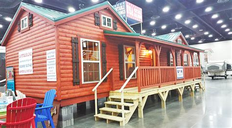 handcrafted amish log cabins built  delivered country  family