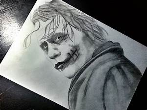 Joker Pencil Drawing by mustafaydin on DeviantArt