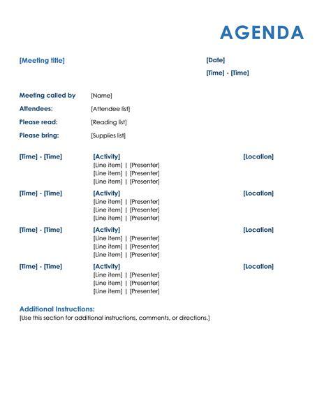 event agenda template 15 meeting agenda templates excel pdf formats