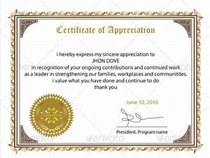24 sample certificate of appreciation temaplates to With certification of appreciation template
