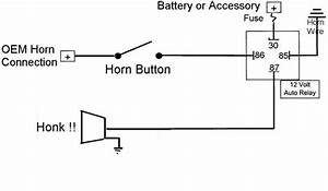 Wiring Diagram Of Motorcycle Horn With Relay Wiring Diagram
