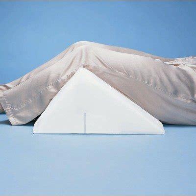 knee wedge pillow hermell knee rest wedge cushion careway wellness center