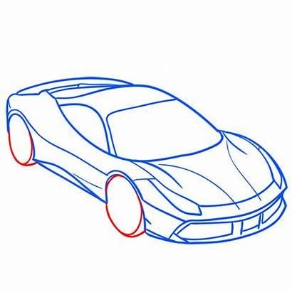 Ferrari Draw 488 Gtb Step Learn Easy