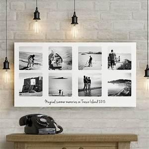Leinwand Collage Dm : eigenes foto auf leinwand erinnerungen in szene setzen deko feiern zenideen ~ Watch28wear.com Haus und Dekorationen