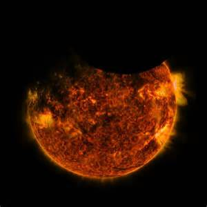 Double eclipse colour caught on camera from NASA's ...