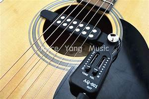 Qh Aq 601 Acoustic Guitar Pick Up Wire Amplifier Speaker