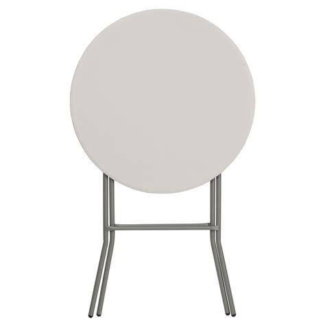 32 granite white plastic bar height folding table