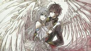 anime boy and girl ( demon and angel) by delusionalfreak ...