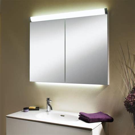 spiegelschrank mit schiebetür schneider paliline spiegelschrank mit 2 t 252 ren mit beleuchtung 159 080 02 50 reuter
