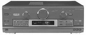 Technics Sa-dx1050 - Manual - Audio Video Control Receiver