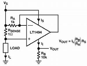 simple current sensing circuit gives linear voltage output With about battery current sensor circuit sensor circuit sensorzine