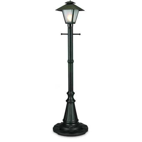 plug in yard lights patio living concepts cape cod black outdoor plug in post