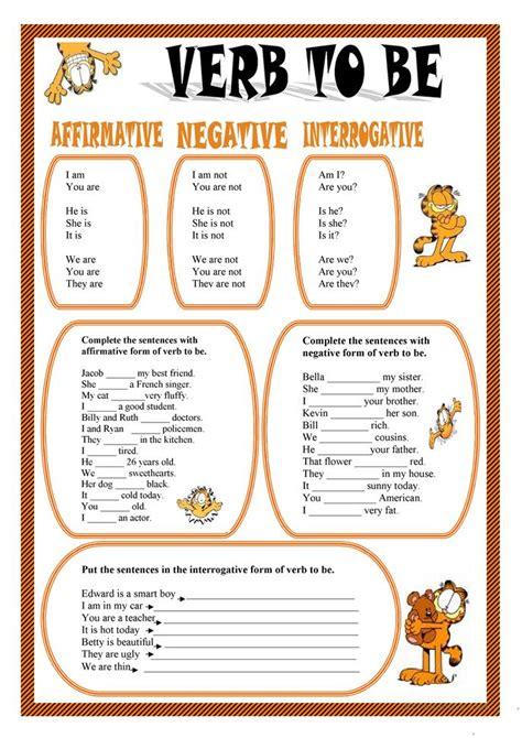 all worksheets 187 verb to be worksheets printable