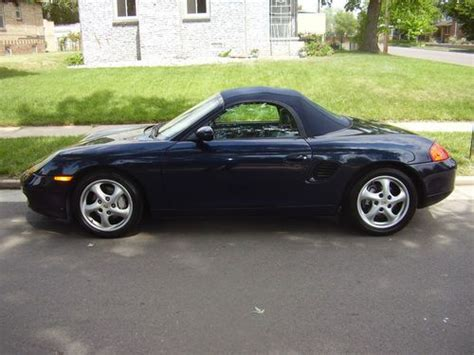 car engine repair manual 1999 porsche boxster auto manual purchase used 1999 porsche boxster 5spd manual blue w grey in denver colorado united states
