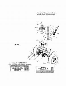 Looking For Swisher Model Zt2250 Rear