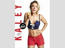 Kaley Cuoco Steps Up to the Plate in a Sexy New Photoshoot
