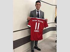 James Rodríguez no lucirá la '10' Bayern Múnich le dio