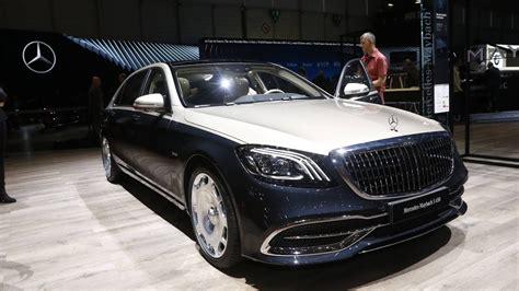 Maybach 2019 : The 2019 Mercedes-maybach S560 4matic New Interior