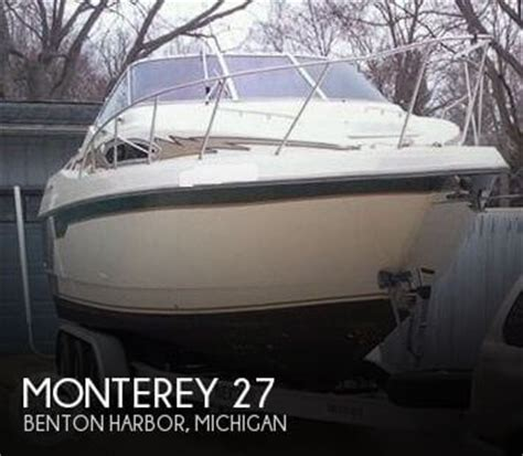 Used Monterey Boats For Sale In Michigan by Monterey Boats For Sale In Michigan Used Monterey Boats