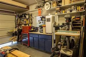 Anthony's Garage Woodshop - The Wood Whisperer