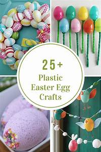 Plastic Easter Egg Crafts and Activities - The Idea Room