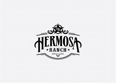 Ranch Logos Western Unique Hermosa Inspiration Restaurant