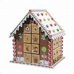 Calendrier De L Avent Maison En Bois : calendrier de l 39 avent maison bois 23x20x27cm cookies pinterest christmas christmas ~ Melissatoandfro.com Idées de Décoration