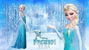 Frozen Elsa - Disney Princess Wallpaper (37731327) - Fanpop