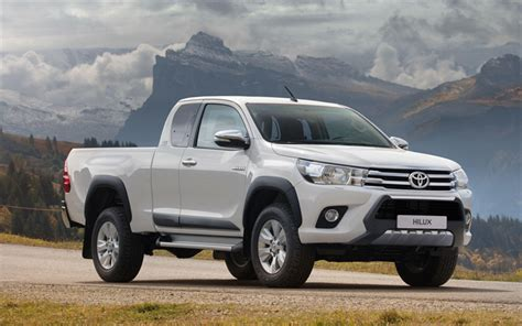 Toyota Hilux 4k Wallpapers wallpapers toyota hilux xtra cab 4k 2018 cars
