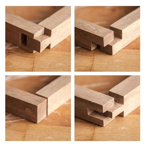dovetail joint lap joint  dowel joint  open
