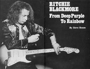 German Black Music Charts Ritchie Blackmore Interviews
