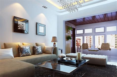 minimalist living room sofa  wall lamp  house