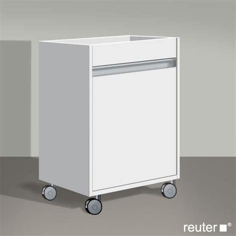 Rollcontainer Fürs Bad by Duravit Ketho Rollcontainer Mit 1 T 252 R Front Wei 223 Matt