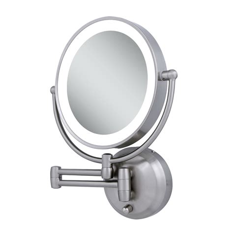 wall mounted lighted vanity mirror home design ideas