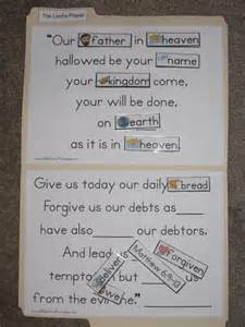 Lord's Prayer Craft Activity